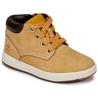 Schuhe Kinder Sneaker High Timberland Davis Square Leather Chk Naturebuck