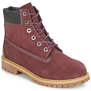 Schuhe Kinder Boots Timberland 7 In Premium WP Boot Bordeaux