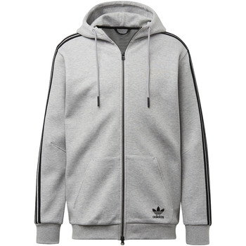 Kleidung Herren Trainingsjacken adidas Originals Curated Kapuzenjacke Grau