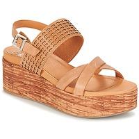 Schuhe Damen Sandalen / Sandaletten Un Matin d'Ete DAO Braun
