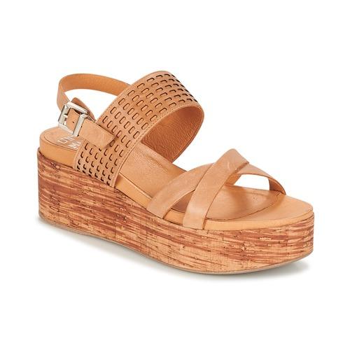 Un Matin d'Ete DAO Braun  Damen Schuhe Sandalen / Sandaletten Damen  103,20 5e4516