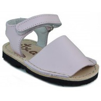 Schuhe Kinder Sandalen / Sandaletten Arantxa Menorquinas handgemachten Kinder PINK