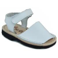 Schuhe Kinder Sandalen / Sandaletten Arantxa Menorquinas handgemachten Kinder WEIB