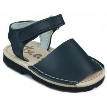 Schuhe Kinder Sandalen / Sandaletten Arantxa Menorquinas handgemachten Kinder BLAU