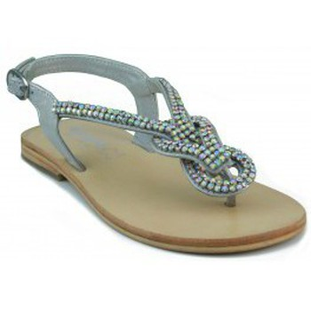 Schuhe Damen Sandalen / Sandaletten Oca Loca OCA LOCA Slave-sandal SILBER