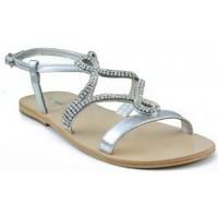 Schuhe Damen Sandalen / Sandaletten Oca Loca OCA LOCA STRASS GRAU