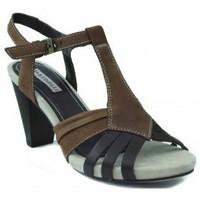 Schuhe Damen Sandalen / Sandaletten Martinelli MARTI Heel Sandale BRAUN