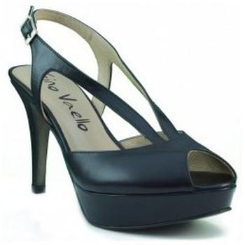 Schuhe Damen Pumps Gino Vaello ALSKA IRIS SCHWARZ