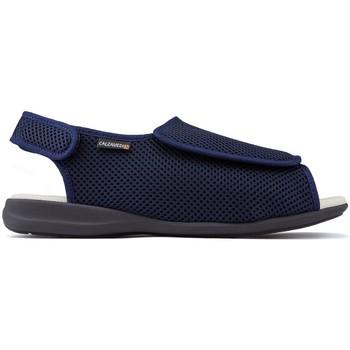 Schuhe Sandalen / Sandaletten Calzamedi Schuhe  bequem BLAU