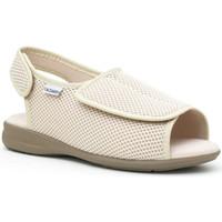 Schuhe Damen Hausschuhe Calzamedi Schuhe  bequem BEIGE