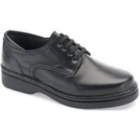 Schuhe Herren Derby-Schuhe Calzamedi sehr bequemen orthopädischen Ritter SCHWARZ