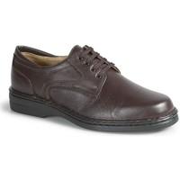 Schuhe Herren Derby-Schuhe Calzamedi sehr bequemen orthopädischen Ritter MARRON