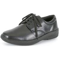 Schuhe Herren Derby-Schuhe Calzamedi SCHUHE SCHUHKLEID FÜR INSOLES BLACK