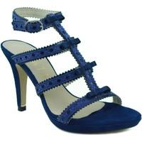 Schuhe Damen Sandalen / Sandaletten Marian Heels Party BLAU