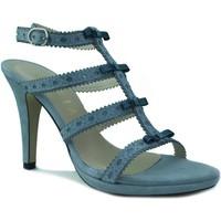 Schuhe Damen Sandalen / Sandaletten Marian Heels Party GRAU