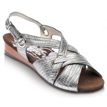 Schuhe Damen Sandalen / Sandaletten Drucker Calzapedic bequeme Sandale GRAU