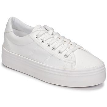 Schuhe Damen Sneaker Low No Name PLATO SNEAKER Weiss