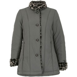 Kleidung Damen Daunenjacken David Barry FemmesFourre trim Impermeable Grey
