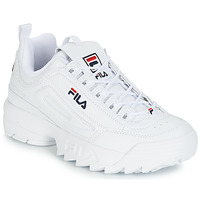 Schuhe Herren Sneaker Low Fila DISRUPTOR LOW Weiss