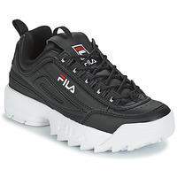 Schuhe Damen Sneaker Low Fila DISRUPTOR LOW WMN Schwarz