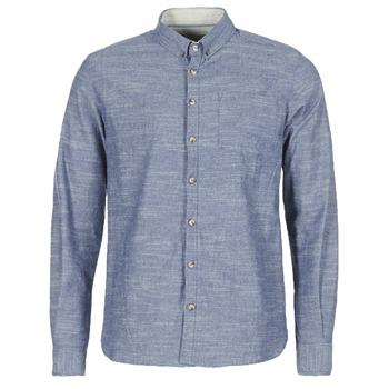 Kleidung Herren Langärmelige Hemden Casual Attitude IPODRUM Blau
