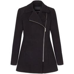 Kleidung Damen Mäntel Anastasia Short Zip Winterjacke Black