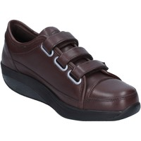 Schuhe Damen Sneaker Low Mbt sneakers braun leder performance AC143 braun