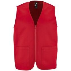 Kleidung Jacken Sols WALLACE WORK UNISEX Rojo