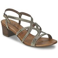 Schuhe Damen Sandalen / Sandaletten Lola Espeleta GUITARE Grau