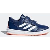 Schuhe Kinder Halbschuhe adidas Originals Altasport CF K Dunkelblau-Blau