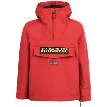 Kleidung Windjacken Napapijri RAINFOREST SUM 16Y N0YHJE JACKEN UND MÄNTEL Unisex Junior RED RED