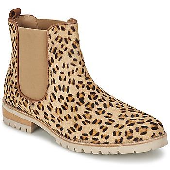 Schuhe Damen Boots Maruti PARADISE Weiss / Schwarz