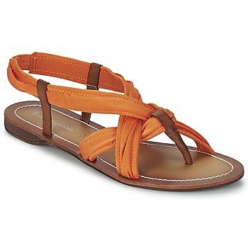 Schuhe Damen Sandalen / Sandaletten Best Mountain MILLENIUM Korallenrot