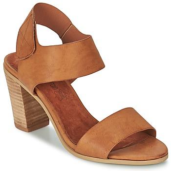 Schuhe Damen Sandalen / Sandaletten Best Mountain MILADI Braun