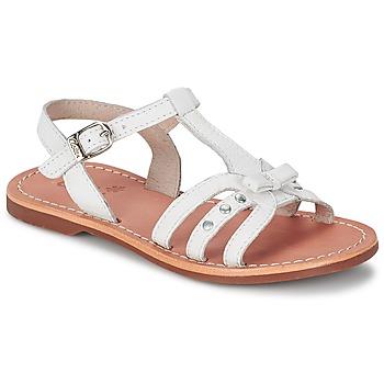 Schuhe Mädchen Sandalen / Sandaletten Aster VALENTINA Weiss