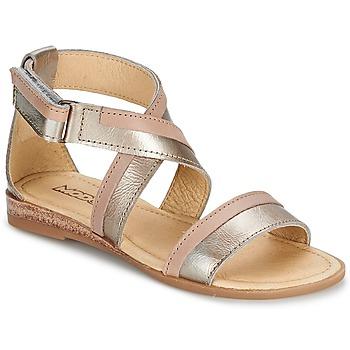 Schuhe Mädchen Sandalen / Sandaletten Mod'8 JOYCE Gold