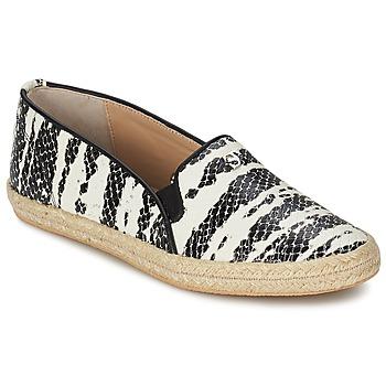 Schuhe Damen Slip on SuperTrash ALISA Schwarz / Beige