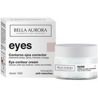 Beauty Damen pflegende Körperlotion Bella Aurora Eyes Contorno Ojos Multi-corrector  15 ml