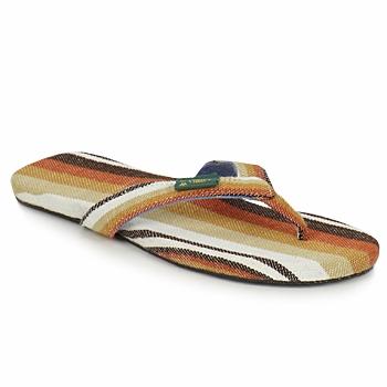Schuhe Herren Zehensandalen SoleRebels EASYRIDING Braun