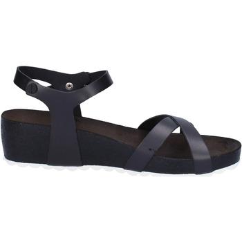 Schuhe Damen Sandalen / Sandaletten 5 Pro Ject sandalen schwarz leder weiß AC700 schwarz