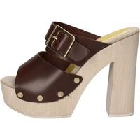 Schuhe Damen Sandalen / Sandaletten Suky Brand sandalen braun leder AC764 braun