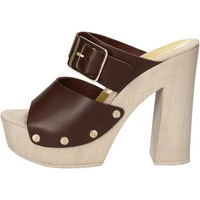 Schuhe Damen Sandalen / Sandaletten Suky Brand sandalen braun leder AC765 braun