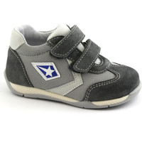 Schuhe Kinder Sneaker Low Balocchi BAL-E18-483185-GR-a Grigio