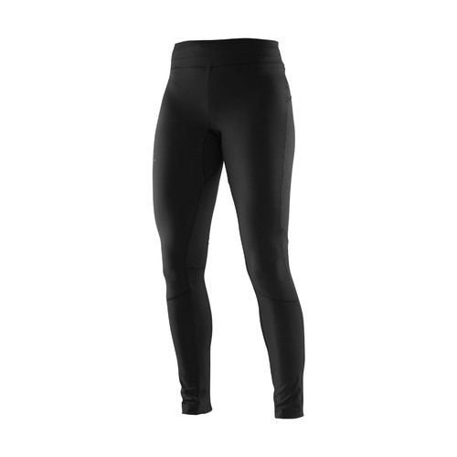 Kleidung Damen Jogginghosen Salomon Equipe Warm Tight W Schwarz