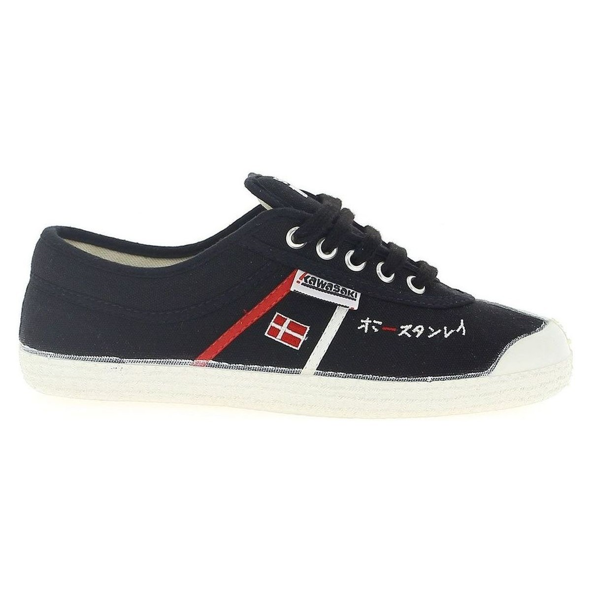 Kawasaki Zapatillas  Players Limited Edition 1972 Schwarz - Schuhe Sneaker Low  27,98 €