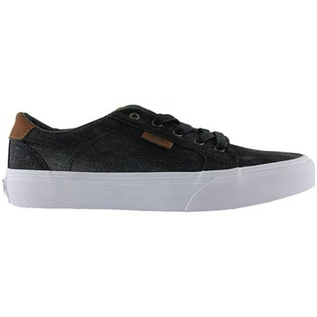 Schuhe Kinder Skaterschuhe Vans bishop denim black kids Schwarz