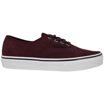 Schuhe Kinder Skaterschuhe Vans authentic suede port royale tweed Bordeaux