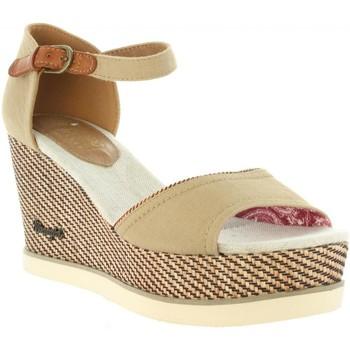 Schuhe Damen Sandalen / Sandaletten Wrangler WL171681 JEENA Beige