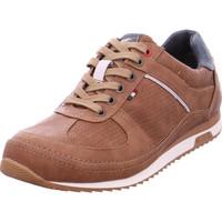 Schuhe Herren Sneaker Low Mustang Ko - 4125301 307 Cognac