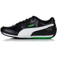 Schuhe Kinder Sneaker Low Puma Fieldsprint L JR Schwarz